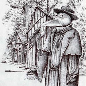 Origins of the Plague Doctor